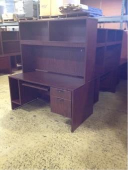 Chairs. Desks